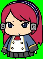 Tsubaki Yayoi (Chibi, School Uniform)
