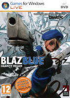 BlazBlue Calamity Trigger (European Cover)