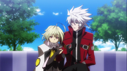 Λ-11- Lambda 11 ラムダ·イレブン Ragna The Bloodedge