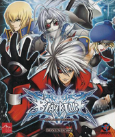 BLAZBLUE ORIGINAL SOUNDTRACK BONUS DISCS (Cover)