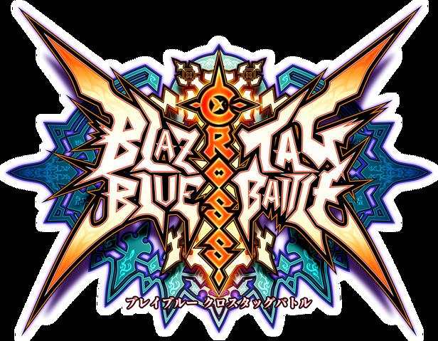File:BlazBlue Cross Tag Battle (Logo).png