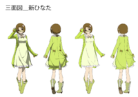 Hinata Himezuru (Concept Artwork, 8)