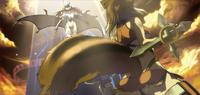 Makoto Nanaya (Continuum Shift II, Arcade Mode Illustration, 2)