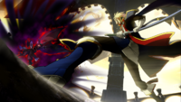 Jin Kisaragi (Continuum Shift, Story Mode Illustration, 2)