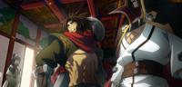 Bang Shishigami (Centralfiction, arcade mode illustration, 3)