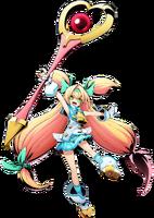 Platinum the Trinity (BlazBlue Cross Tag Battle, Character Select Artwork)