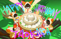 Taokaka (Birthday Illustration, 2012)