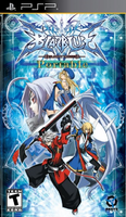 BlazBlue Calamity Trigger (PlayStation Portable, North American Cover)