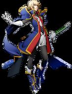 Jin Kisaragi (BlazBlue Cross Tag Battle, Character Select Artwork)