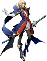 Jin Kisaragi (BlazBlue Cross Tag Battle, Character Select Artwork)