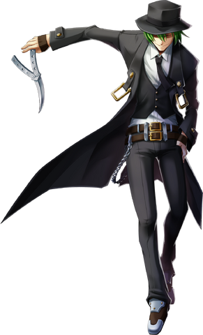 Archivo:Hazama (Chronophantasma, Character Select Artwork).png