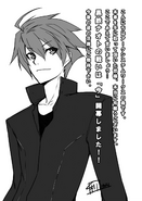 BlazBlue Bloodedge Experience Part 2 (Black and white illustration, 6)