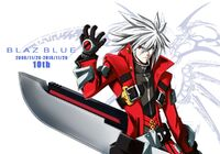 Ragna the Bloodedge (Blazblue 10th Anniversity illustration)