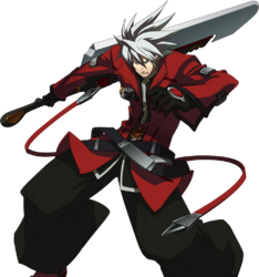 Ragna the Bloodedge (Story Mode Artwork, Pre Battle)