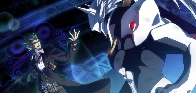 File:Hakumen (Chronophantasma, Arcade Mode Illustration, 1).png