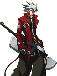 Ragna the Bloodedge (Story Mode Artwork, Normal)
