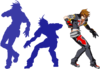 Naoto Kurogane (Sprite, 214A-Enhanced)