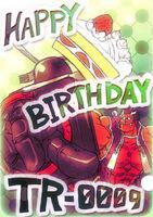 Iron Tager (Birthday Illustration, 2011)