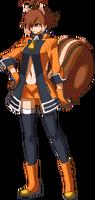 Makoto Nanaya (Sprite, New Outfit)