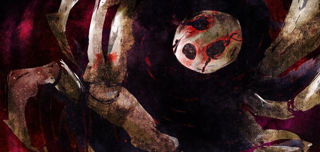 File:Arakune (Chronophantasma, Arcade Mode Illustration, 3).png