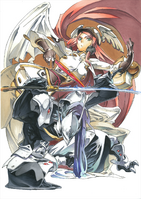 BlazBlue Chronophantasma Story Maniacs Material Collection II (Illustration, 13)