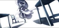 Amane Nishiki (Centralfiction, arcade mode illustration, 4, type B)
