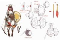 Tsubaki Yayoi (Concept Artwork, 3)