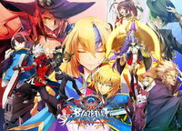 BlazBlue Centralfiction (Arcade Poster, Act II)
