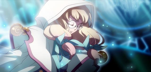 File:Yūki Terumi (Chronophantasma, Arcade Mode Illustration, 2, Type B).png