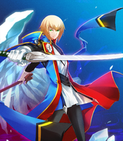 Jin Kisaragi (Lord of Vermilion, Artwork)