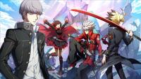 Cooperative Ending (Cross Tag Battle, Episode Mode Illustration, 3)