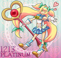 Platinum the Trinity (Birthday Illustration, 2011)