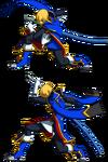 Jin Kisaragi (Sprite, Crush Trigger)