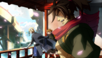 Jin Kisaragi (Continuum Shift, Story Mode Illustration, 1)