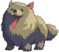 Large barking dog (Sprite)