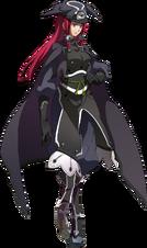 Tsubaki Yayoi (Story Mode Artwork, Normal, Dark)