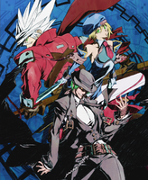 BlazBlue Continuum Shift (Strategy Guide Cover)