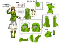 Hinata Himezuru (Concept Artwork, 3)