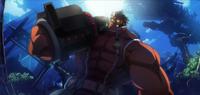 Iron Tager (Chronophantasma, Arcade Mode Illustration, 2)