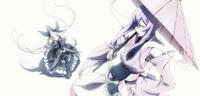 Amane Nishiki (Centralfiction, arcade mode illustration, 2, type A)