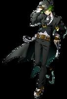 Hazama (BlazBlue Cross Tag Battle, Character Select Artwork)
