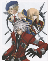 BlazBlue Calamity Trigger Material Collection (Illustration, 1)