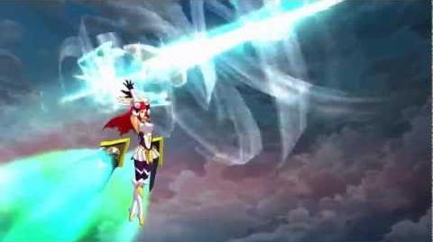 BlazBlue Chronophantasma - Izayoi Gameplay Trailer