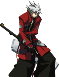 Ragna the Bloodedge (Story Mode Artwork, Defeated)