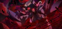 Tsubaki Yayoi (Chronophantasma, Arcade Mode Illustration, 2, Type B)