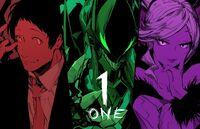 BBTAG 2.0 Illustration countdown of Tohru Adachi, Susano'o and Hilda by Konomi Higuchi