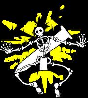 Bang Shishigami (Sprite, electrocuted)