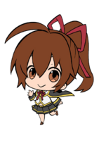 Celica A. Mercury (Chibi, Limited Edition Strap Artwork)