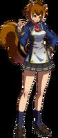 Makoto Nanaya (Story Mode Artwork, Normal, School Uniform, Type A)