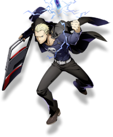 Kanji Tatsumi (BlazBlue Cross Tag Battle, Character Select Artwork)